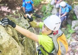 Colonie de vacances, séjours vacances, enfants, Sollières, canyoning : été 2017
