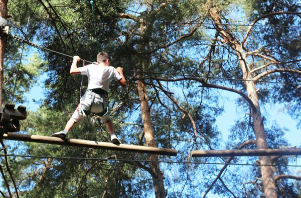 Colonie de vacances, séjours vacances, Sollières, parc aventure 2