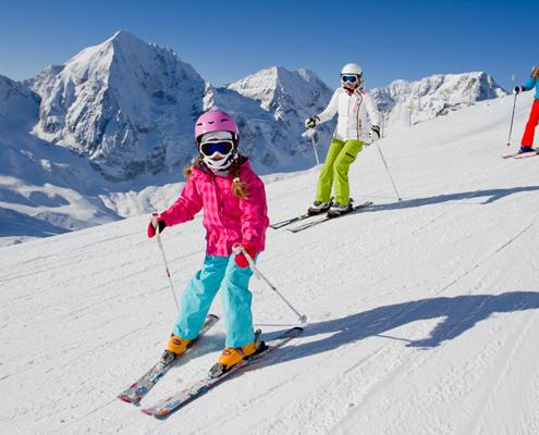 Centre colonies, vacances, neige, hiver, ski, Méaudre : ski 4