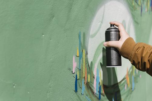 Graffiti, été 2019, St Jean de Monts 2