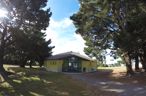 Centre de Damgan Kermor, vacances, classes, colonie, bâtiment