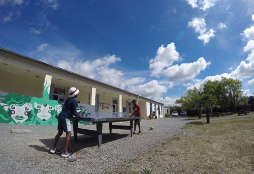 Centre de Damgan Kermor, vacances, classes, colonie, vue extérieure