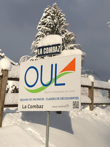 Centre Combloux, vacances, classes, colonie, bâtiment hiver