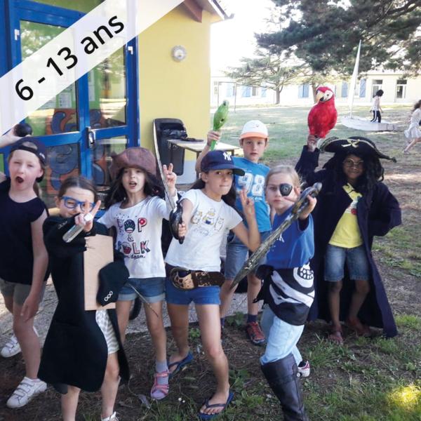 Colonie de vacances, séjour enfant, Damgan Kermor : voile et pirates 6-9 ans OUL