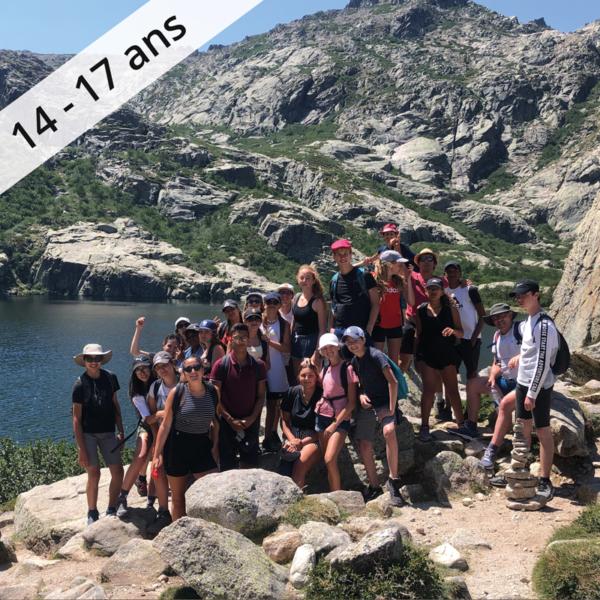 Colonie de vacances, séjour enfant, itinerant Corse : adrenaline Corse 14-17 ans OUL