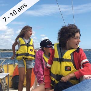 Colonie de vacances, séjour enfant, Les Sables d'Olonne : entre lac et océan 7-10 ans OUL