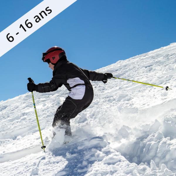 Colonie de vacances, séjour enfant, Lans en Vercors, ski, surf 6-16-ans, OUL
