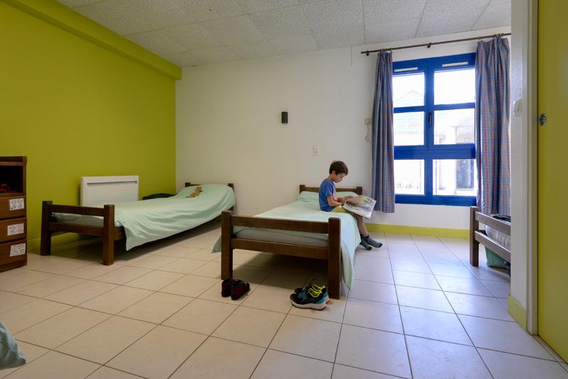 Colonie de vacances, séjours, classes de découvertes, famille, Ingrannes, chambre 2