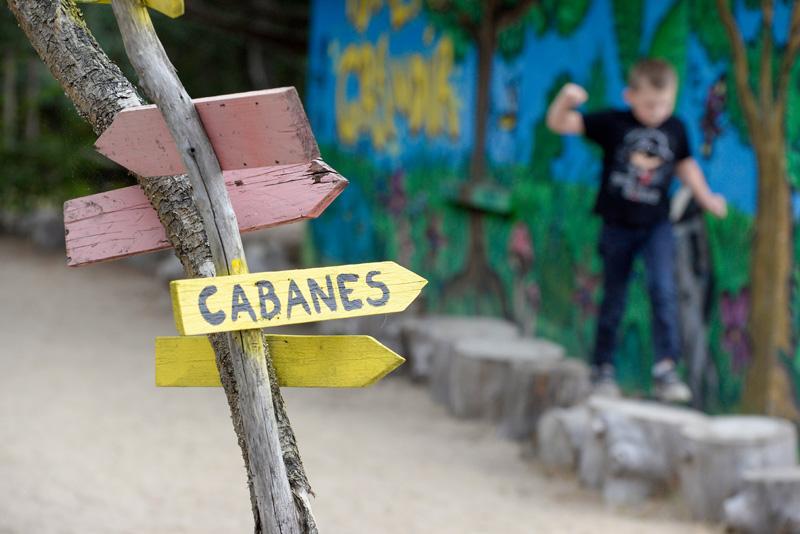 Colonie de vacances, séjours, classes de découvertes, Les Caillettes le centre, les cabanes