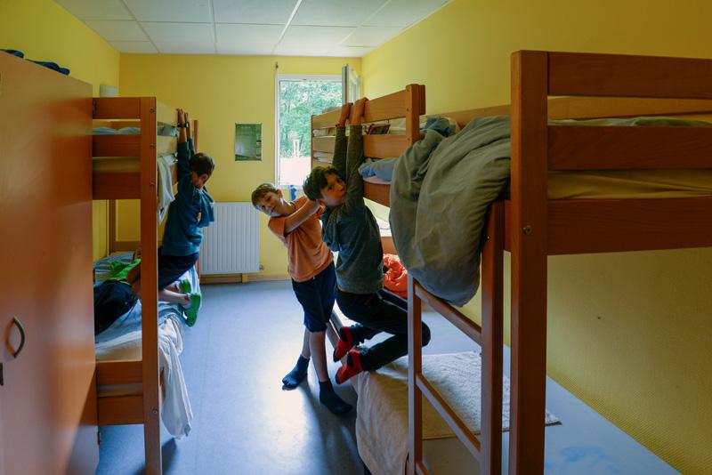 Colonie de vacances, séjours, classes de découvertes, Les Caillettes le centre, chambre 2